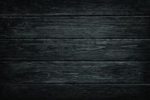 Wooden Dark Black Retro Shabby...