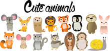все животные