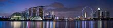 Singapore Skyscrapers At Magic...
