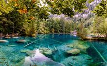 Blausea Lake In The Lauterbrun...
