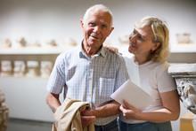 Senior Couple Visiting Museum