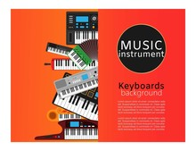 Keyboard Musical Instruments S...