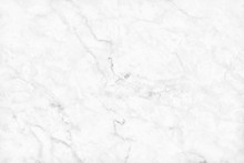 White Gray Marble Texture Back...