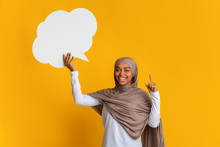 Inspired Black Woman In Hijab ...