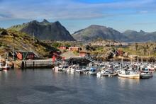 Stamsund Harbor, Norway