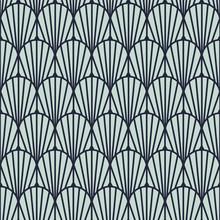 Art Deco Vintage Geometric Sea...
