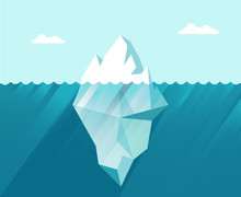 Iceberg In The Sea Business Co...