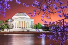 Washington DC, USA Skyline On ...