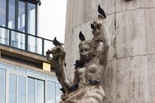 National Monument Auf Dem Dam Square In Amsterdam