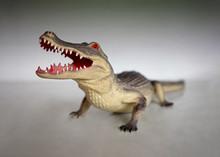 Figure Of Crocodile Made Of Pl...