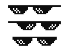 Vector Pixel Glasses Known As ...
