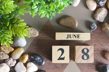 June 28, Number Cube Design In...