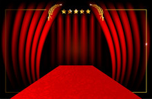Red Carpet Party Concept And L...