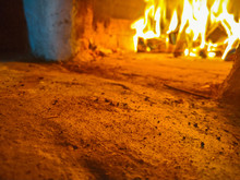 Fire That Burns In A Wood Oven...