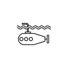 Military, Sea, Submarine, Unde...