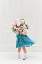 Cute Little Girl Child In A Su...