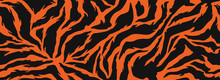 Tiger Stripes Pattern, Animal ...