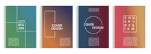 Set Of Design Templates With A...
