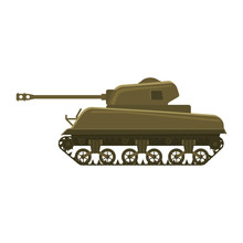 Tank American World War 2 M4 S...