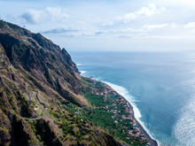 The Rugged Landscape Of Madeira Including The Highest Cliffs In The World And So Many Tunnels And Vertiginous Roads