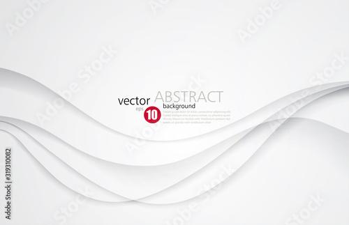 Obraz White silk satin background smooth texture background - fototapety do salonu