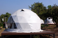 Geodesic Dome Tents In Asia.