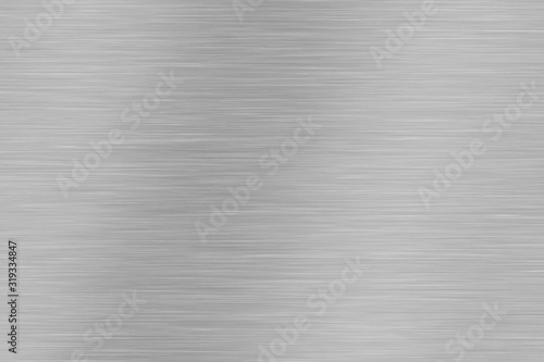 Photo Brushed metal design texture background