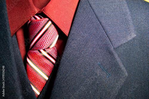 Obraz traje de novio y corbata - fototapety do salonu