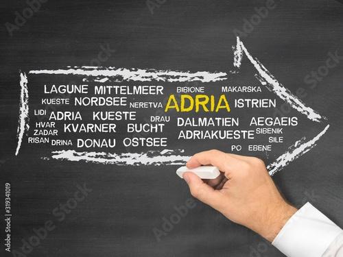 Adria Canvas Print