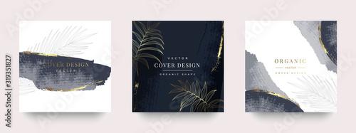 Obraz Luxury Social media stories and post template vector set. - fototapety do salonu