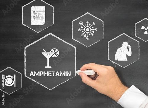 Amphetamin Canvas Print