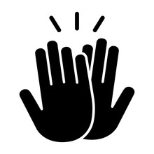 High Five Or High 5 Hand Gestu...