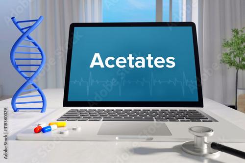 Acetates – Medicine/health Tapéta, Fotótapéta