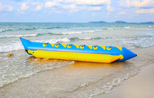 Colorful Banana Boat Floating ...
