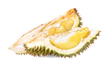 Durian And Durian Peels An Iso...
