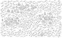 Medieval City, Fantasy Area Ma...