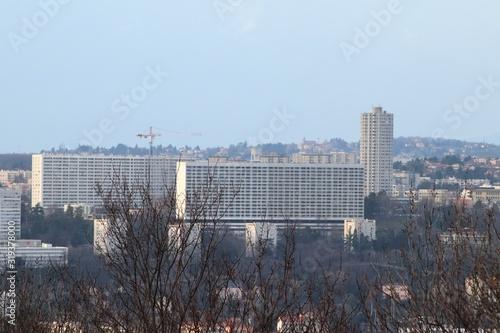 Photo Le quartier nommé La Duchère à Lyon dans le 8 ème arrondissement - Ville de Ly