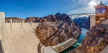 View From Hoover Dam Over Colo...