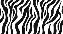 Zebra Skin, Stripes Pattern. A...