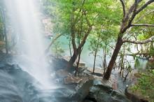 Little Mertens Falls At Mitche...