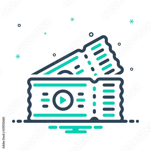 mix icon for admit Wallpaper Mural