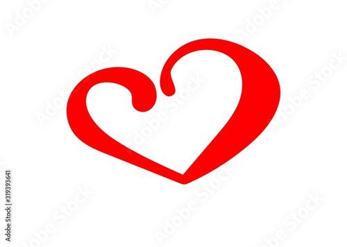 serce, serduszko, miłość, Walentynki, luty, wiosna, wyznanie uczuć, kocha, zadow Canvas Print