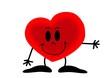 serce, Walentynki, uczucia, obrazek rysunek, święto zakochanych