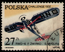 POLAND - CIRCA 1982: Post Stam...