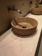 Wash Basin Made From Brown Col...