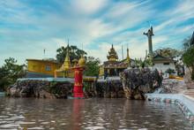 Bayint Nyi (Bayin Gyi Gu Or Begyinni) Cave Temple, Mon State, Myanmar (Burma)