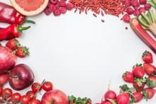 Marco De Frutas Y Vegetales