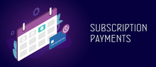 Subscription Payment And Month...