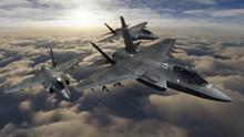 F-35 Fighter Jets Flying Toget...
