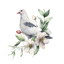 Watercolor Spring Illustration...